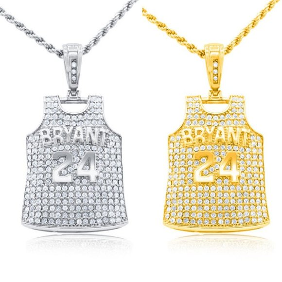 Accessories   14k Kobe Bryant Jersey Pendant Hip Hop Jewelry ...